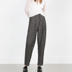 Zara Woman High Waist Pants